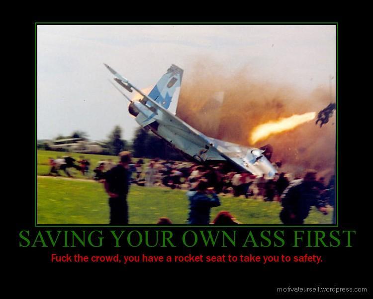 Saving Your Own Ass First 116