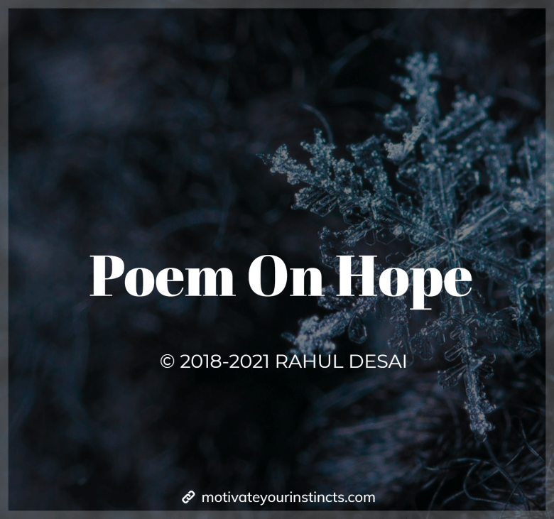 poem on hope in english