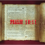 Psalms 16:11 – Acknowledging God's presence
