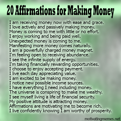 Daily Affirmations Self Improvement