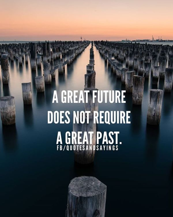 a great future does