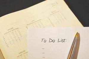 Motivation zum Sport durch eine To-Do Liste