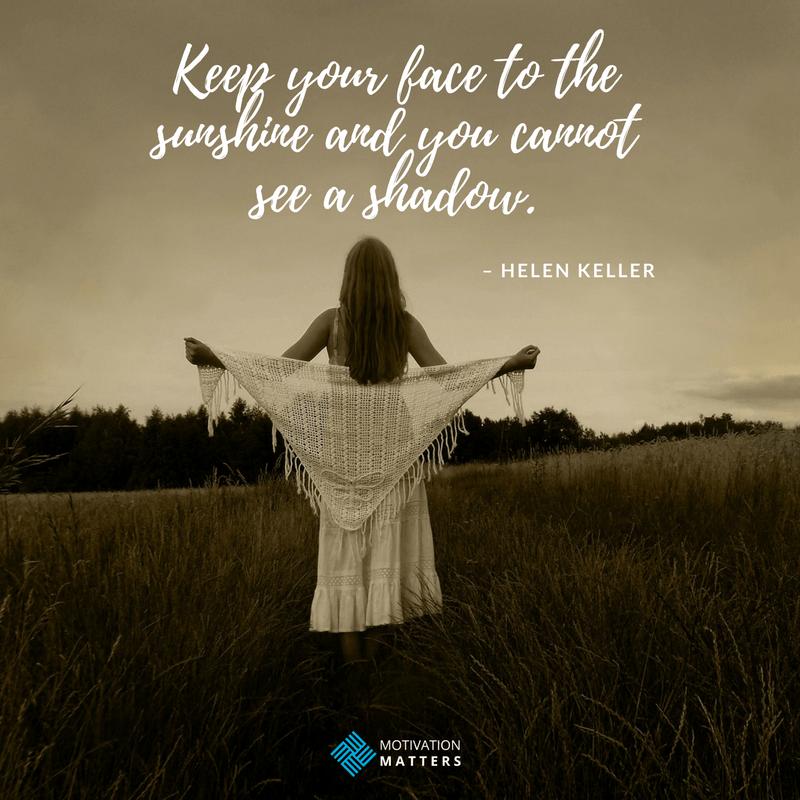 Helen Kellar quote