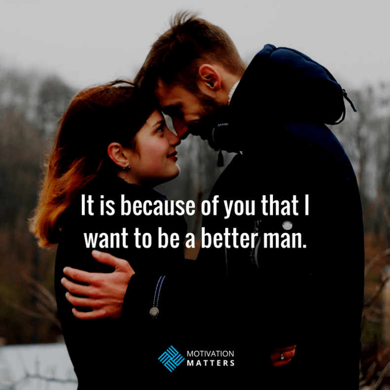 better man quote