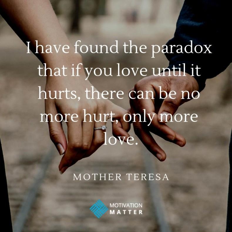 Mother Teresa Love Quote