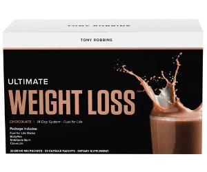 Tony Robbins Ultimate Weight Loss? (Chocolate)