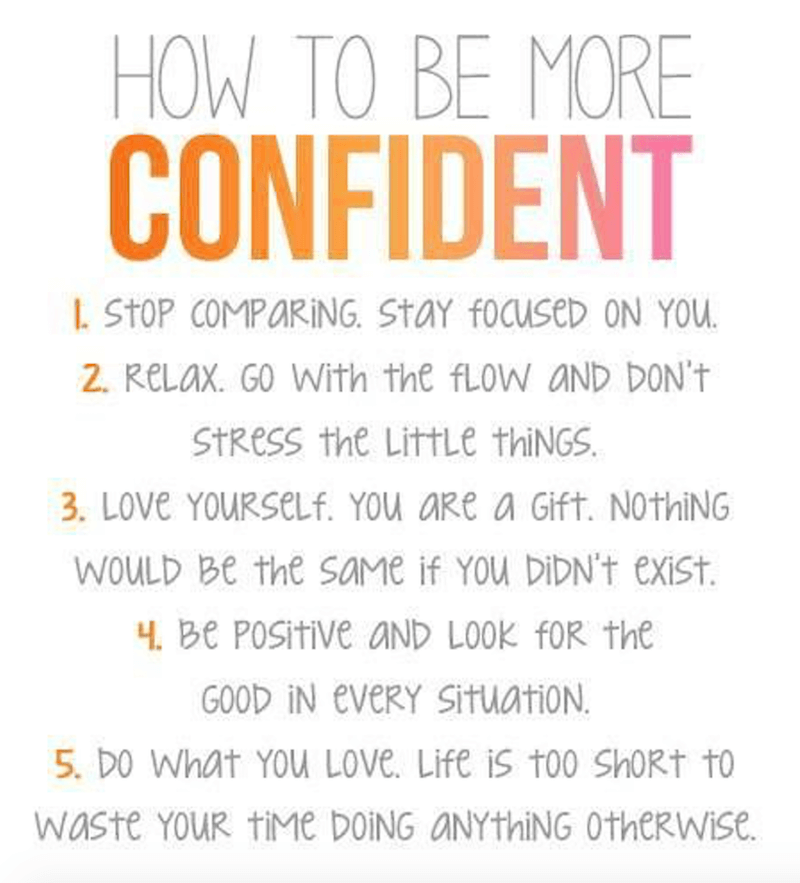 Inspirational Self Esteem Quotes
