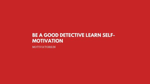 Be a Good Detective