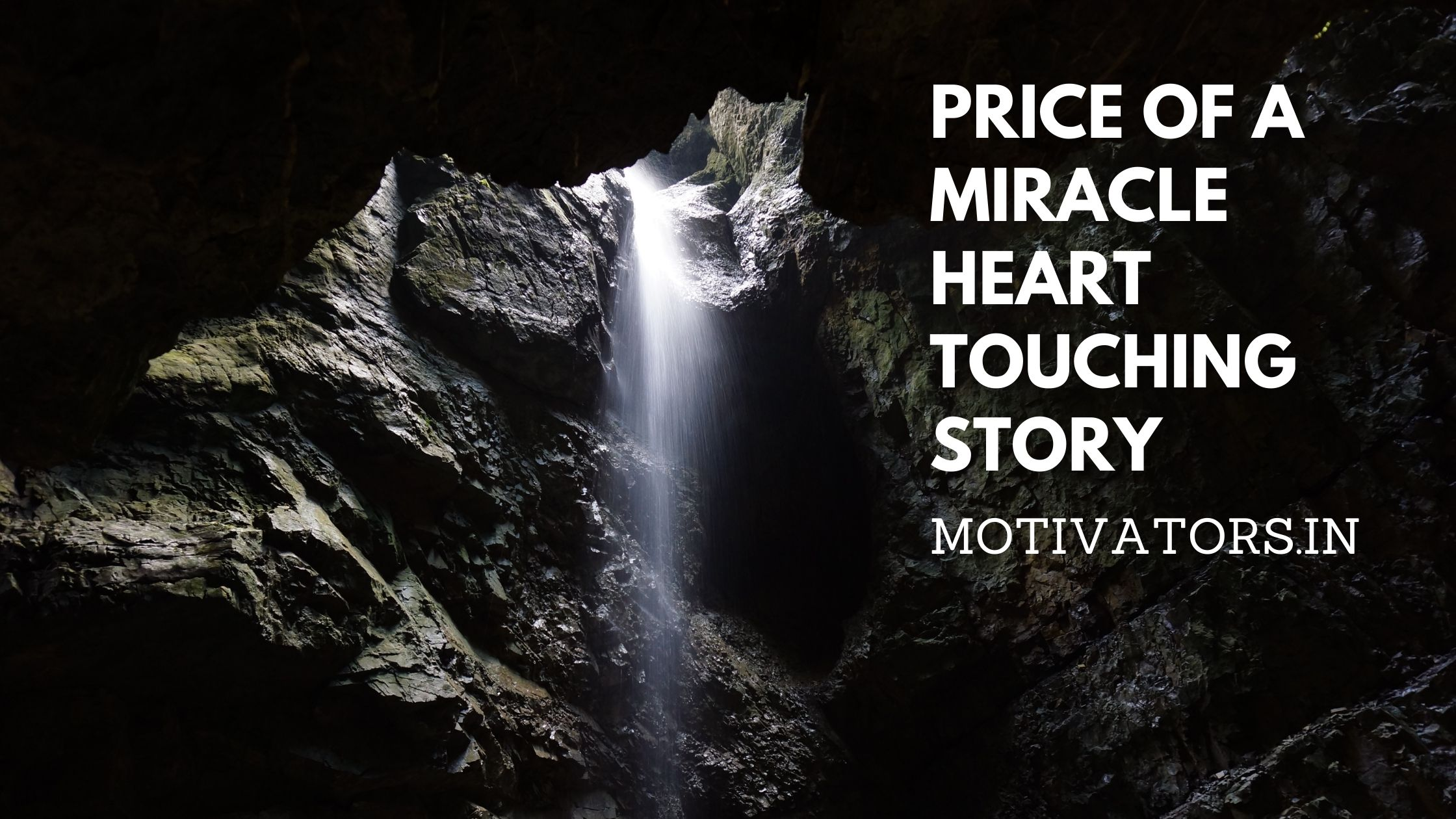 Price Of A Miracle
