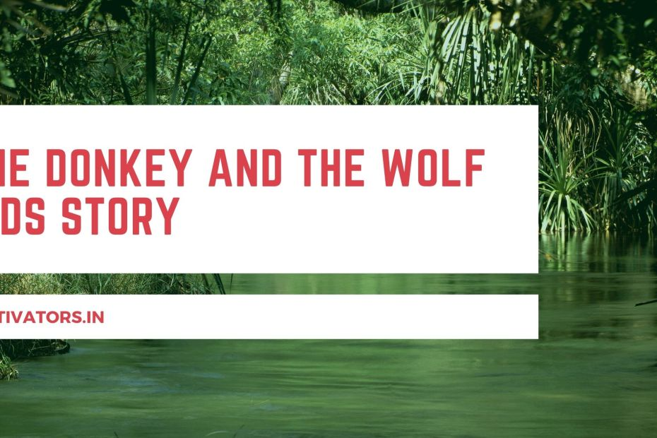 The Donkey And The Wolf Kids Story