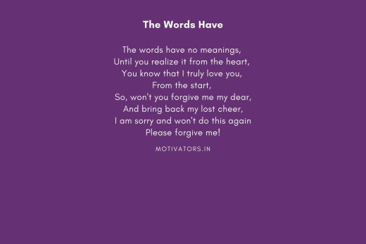 The Words Have