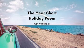The Year Short Holiday Poem