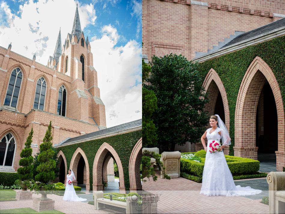 St Martins Episcopal Church Bridals Houston Wedding