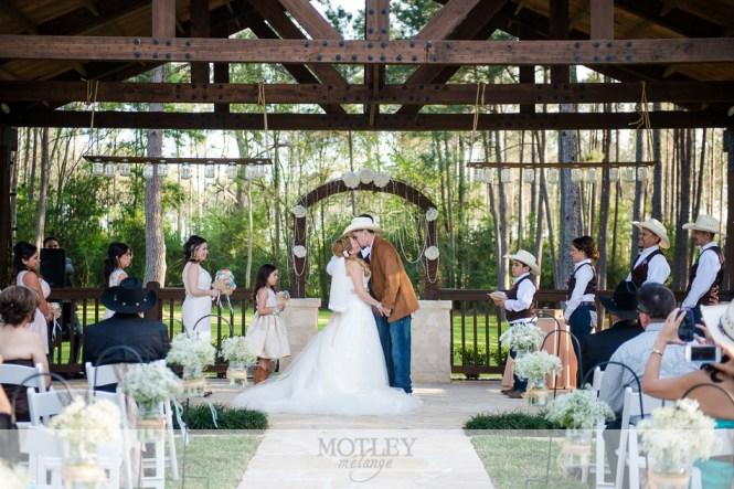Houston Oaks Country Club Chapel Wedding
