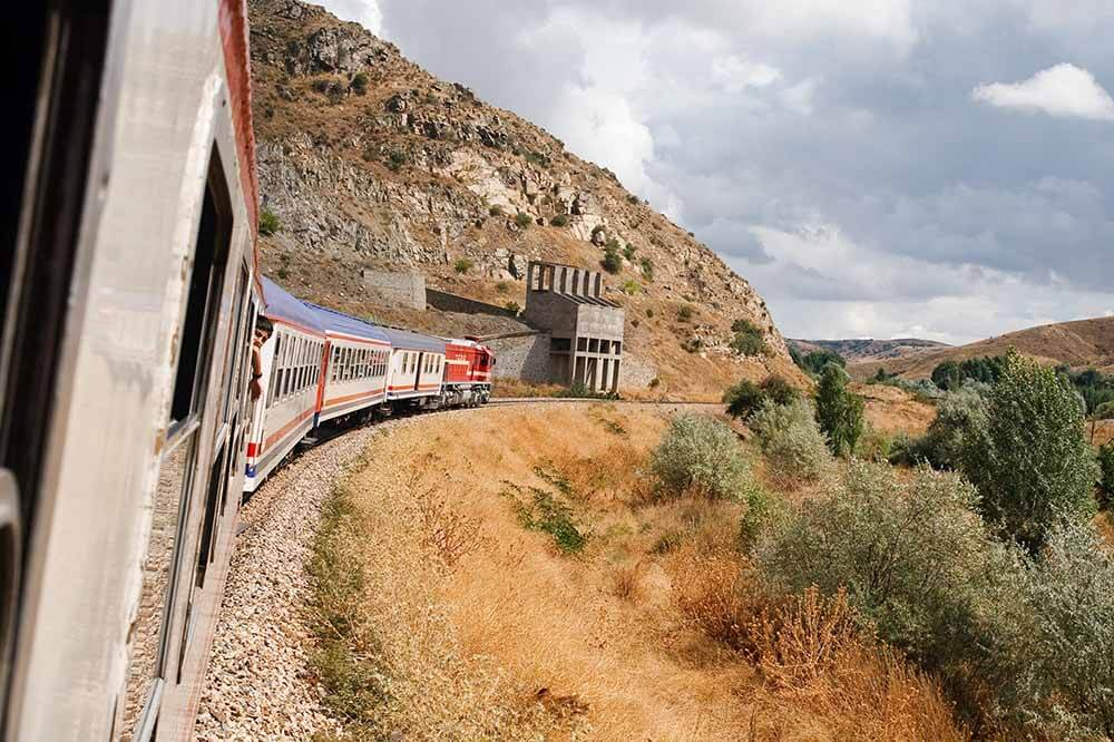 Scenic Train Routes in Turkey