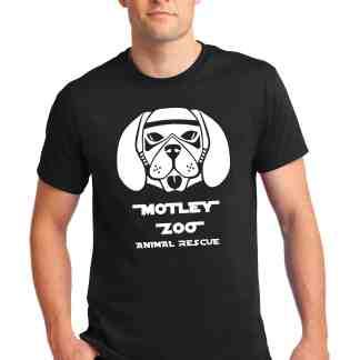 Galactic Warrior K9 Tshirt Motley Zoo Bydfault