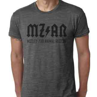 Classic MZ AR Men's T-Shirt MOTLEY ZOO ANIMAL RESCUE BYDFAULT