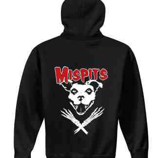 Mispits hoodie back motley zoo animal rescue bydfault