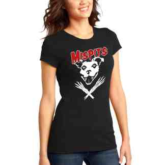 Mispits women tee front motley zoo animal rescue bydfault