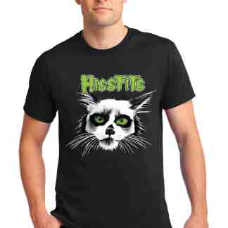 men HISSFITS tee front MOTLEY ZOO ANIMAL RESCUE