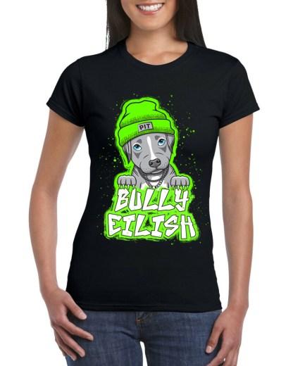 bully eilish tshirt- front