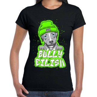 bully eilish tshirt- front