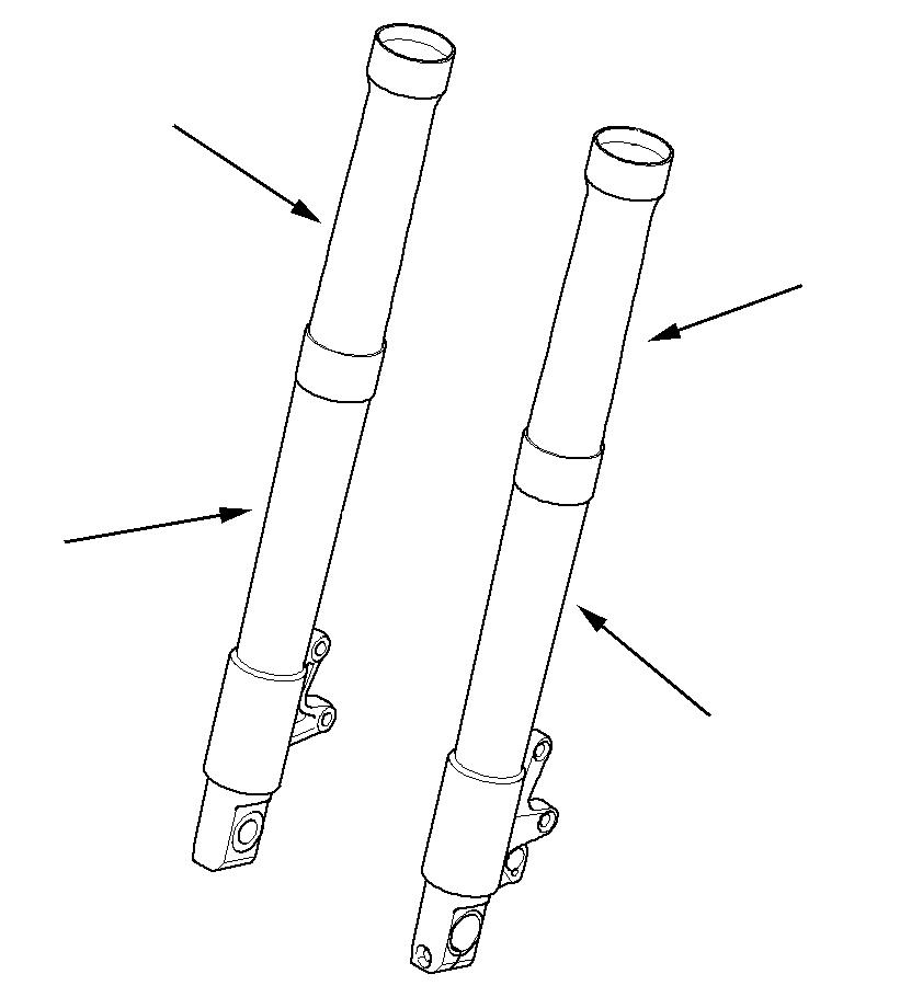 KTM 950/990 Adv. neoprene fork covers