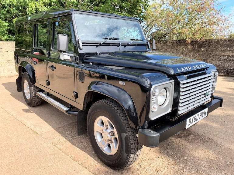 2010 Defender 110 TDCi XS utility wagon TMD stage 2 tuned 39000m for sale at motodrome