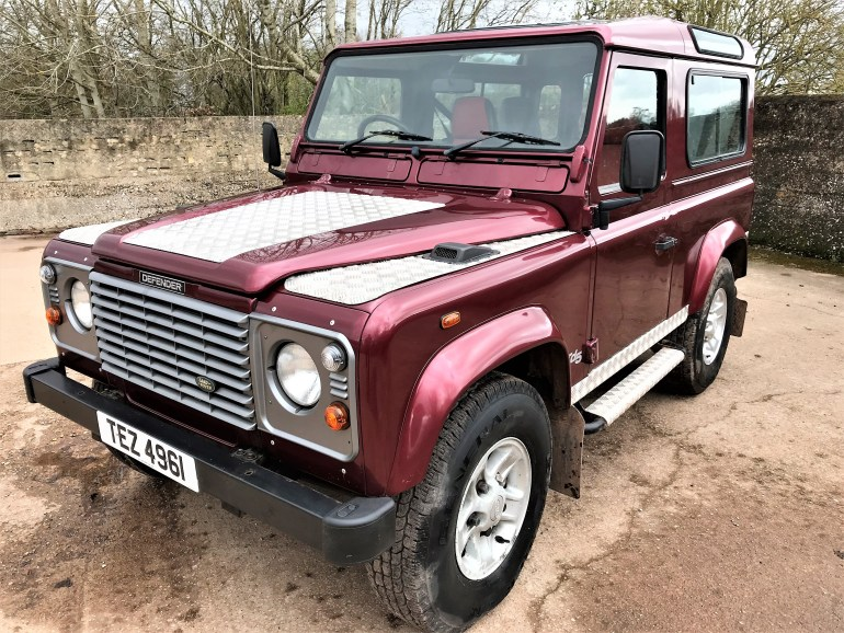 2002 Defender 90 TD5 County Station Wagon for sale at motodrome