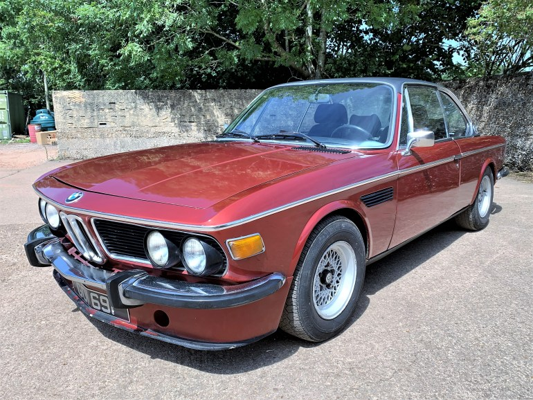 1974 BMW E9 CSA 84000kms for sale at motodrome