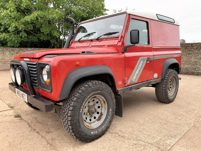 1995 Defender 90 300TDi County Hardtop for sale at Motodrome