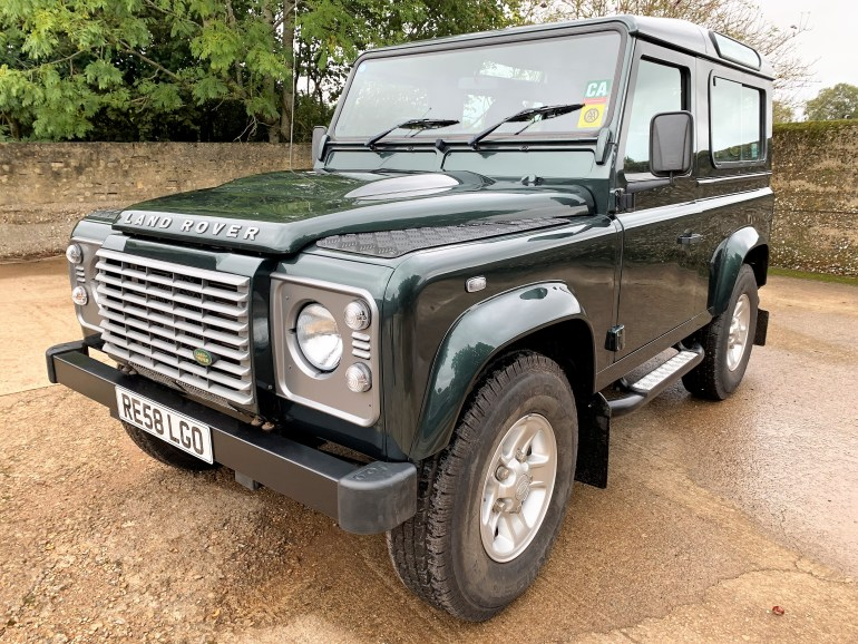 08/58 Defender 90 TDCi XS station wagon 2 owners 45000m for sale