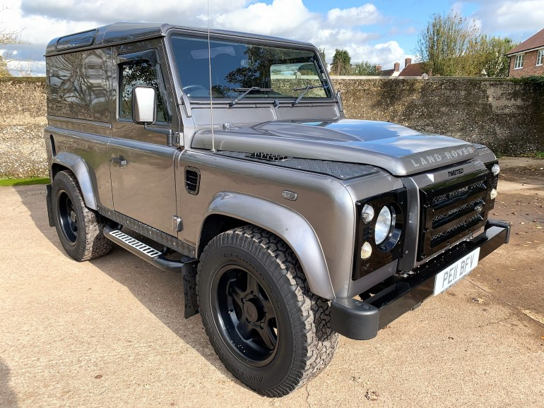 2011 Twisted P4 Defender 90 TDCi hardtop 66000m for sale