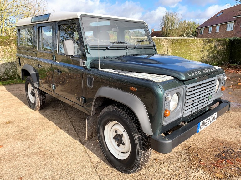 2008/58 Defender 110 TDCi Station Wagon 7 seater 2 owners 66000m £17995