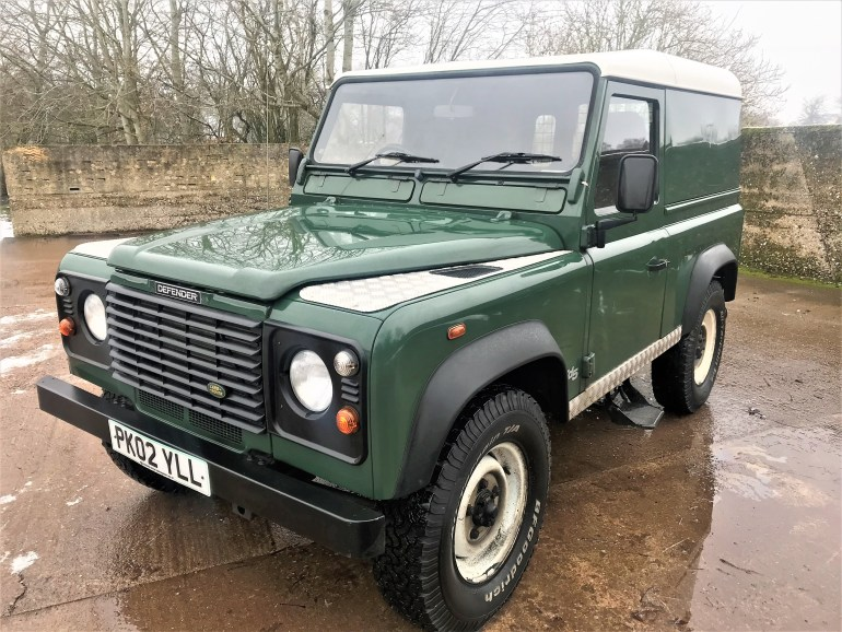 2002 Defender 90 TD5 hardtop 102000m for sale