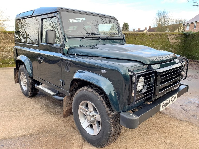 2014/64 Defender 90 2.2TDCi XS Hardtop with upgrades for sale at motodrome