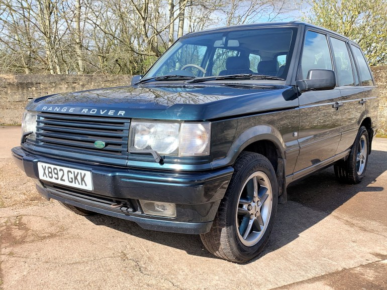 2000 RANGE ROVER P38 4.6 HOLLAND & HOLLAND EDITION FOR SALE AT MOTODROME