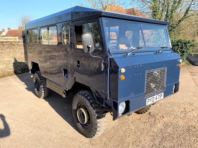 land rover 101FC for sale at motodrome