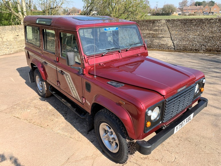LAND ROVER DEFENDER 110 TD5 COUNTY STATION WAGON 11 SEATER 87000M FOR SALE AT MOTODROME