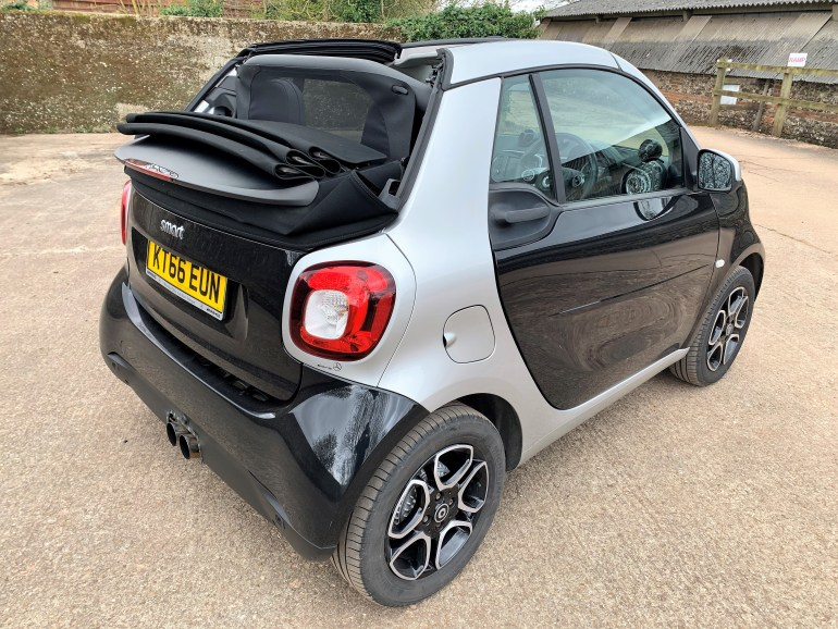 2017 SMART FORTWO 0.9T PRIME PREMIUM CABRIOLET AUTO FOR SALE AT MOTODROME