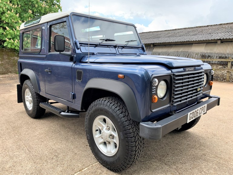 2006 DEFENDER 90 TD5 STATION WAGON 75000m 1 OWNER SINCE 2006