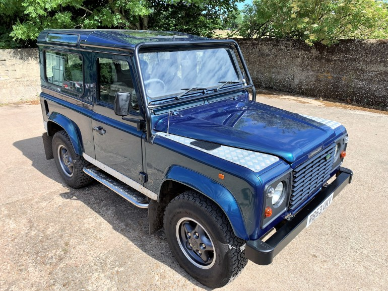 1998 DEFENDER 90 50TH ANNIVERSARY WITH OVERFINCH UPGRADES FOR SALE AT MOTODROME