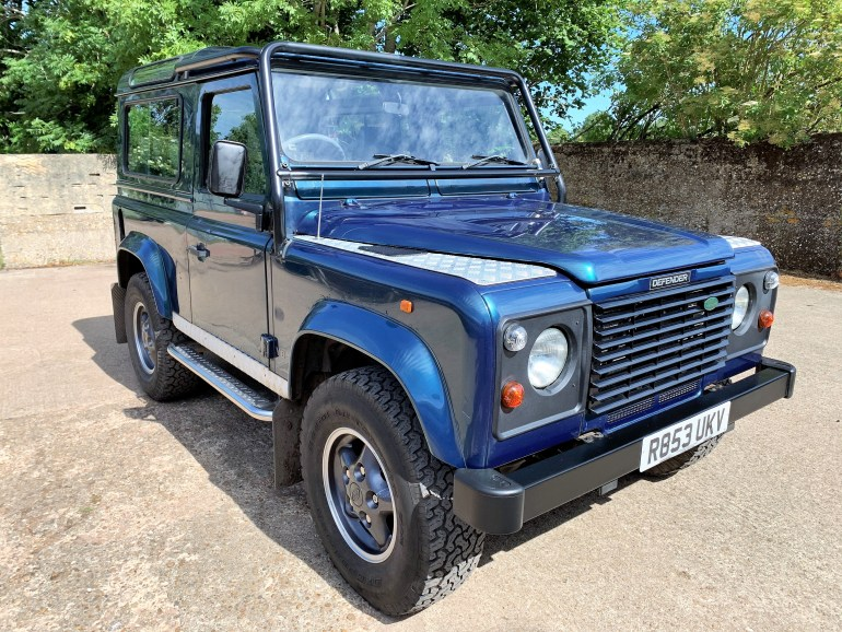 defender 90 50th anniversary with Overfinch upgrade for sale at Motodrome