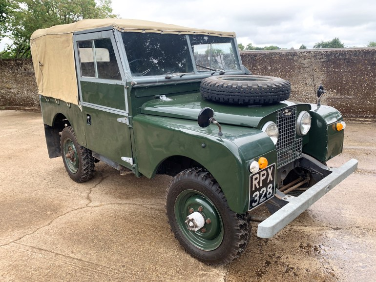 1954 SERIES ONE 86IN SOFT TOP £15995