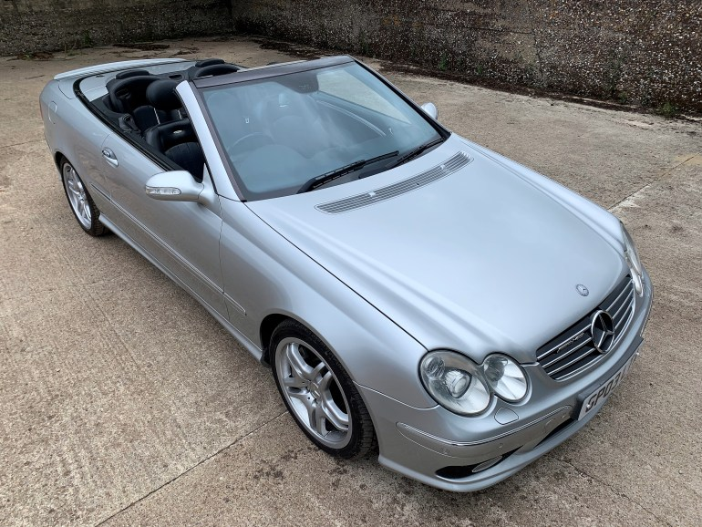 MERCEDES CLK55 AMG W209 CONVERTIBLE FOR SALE AT MOTODROME