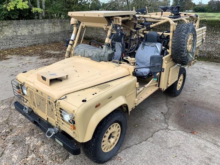 1999 Land Rover Defender RWMIK+ £29995 inc VAT for sale at Motodrome