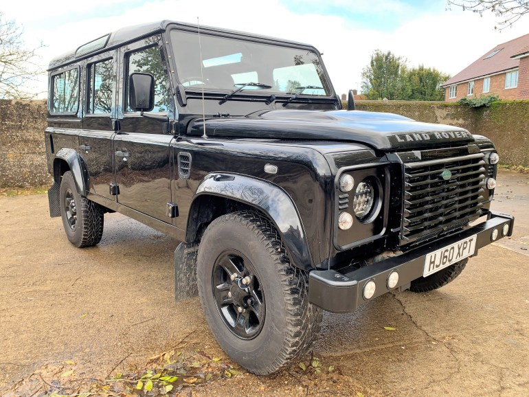 2010/60 Land Rover Defender 110 TDCi XS Station Wagon 7 seater £22795 for sale at Motodrome