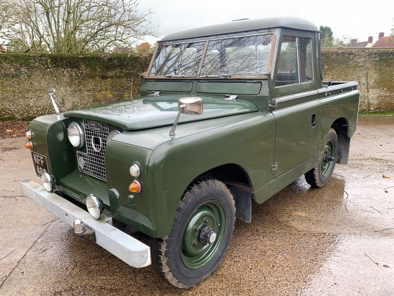 1961 Land Rover Series II 88in petrol truckcab 1 owner past 31 years £14995 for sale at motodrome