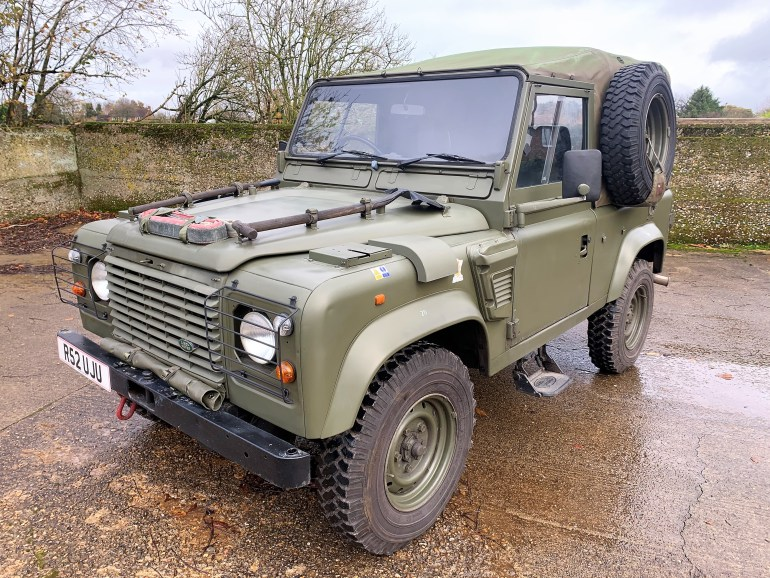 1998 Land Rover Defender 90 300TDi Wolf Soft top £13995 for sale at motodrome