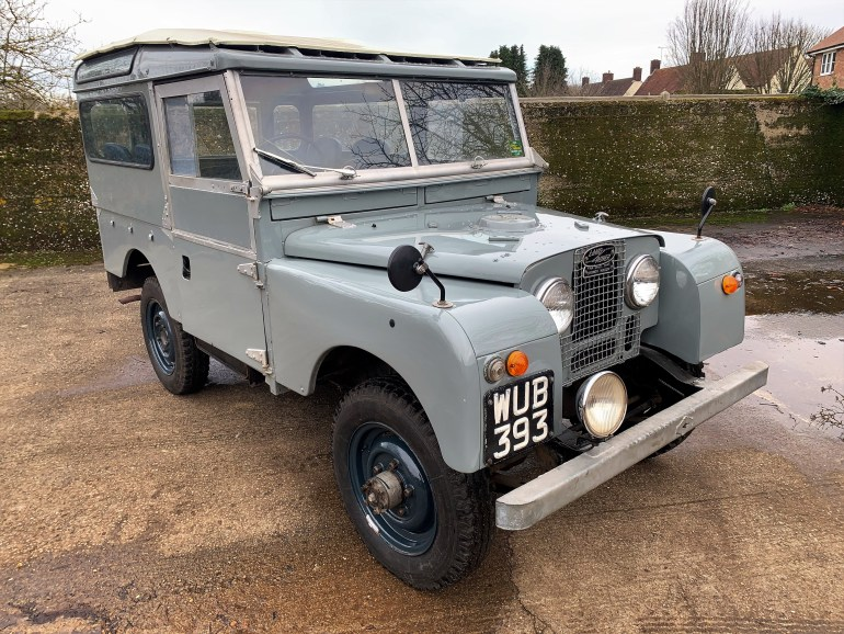 1956  LAND ROVER SERIES 1 86IN STATION WAGON FOR SALE AT MOTODROME THE CLASSIC LAND ROVER SPECIALISTS